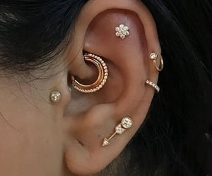 aesthetic, diamond, and earrings image