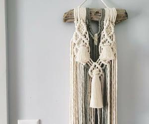 decor, driftwood, and tassels image