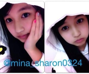 twice, mina, and predebut image