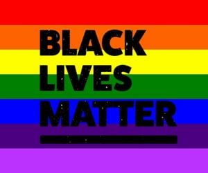 blm, black lives matter, and blm movement image
