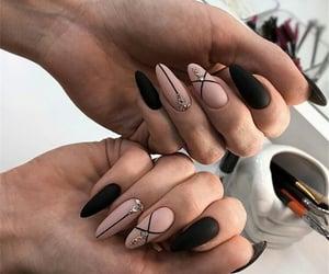 black, moderno, and nails image