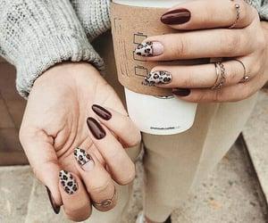 crema, moderno, and nails image