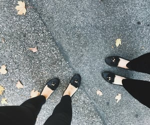 autumn, fall, and loafers image