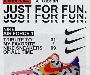 nike, vintage, and poster image