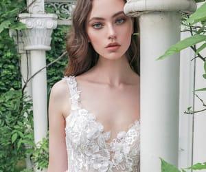 bridal, pretty, and beautiful image