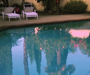 aesthetic, pool, and blue image