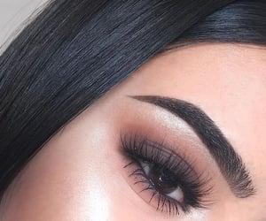 beauty, cosmetic, and eyeliner image