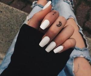 Hot, nails, and nail salons image