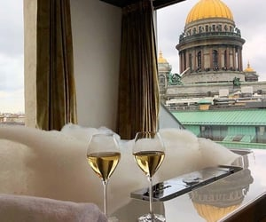 drinks, hotel, and luxury image