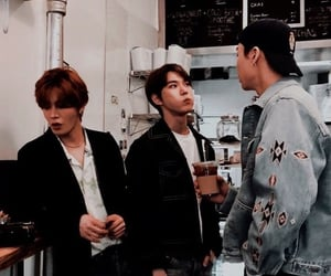 nct 127, johnny, and doyoung image