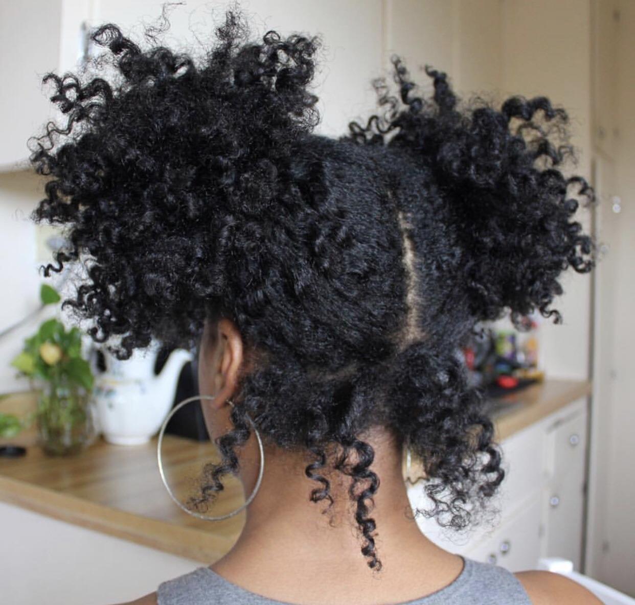 hairstyle and natural hair image