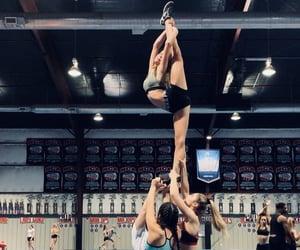 cheer, flexible, and girl image