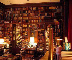 books, heaven, and light image