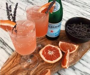 Cocktails, drinks, and lavender image