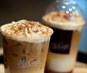 coffee, mccafe, and drink image