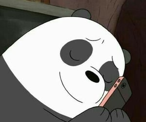 meme, we bare bears, and panda image