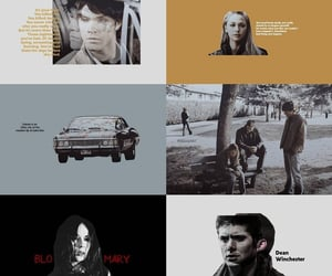 aesthetic, dean winchester, and graphic image