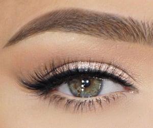 beautiful, eyelashes, and style image
