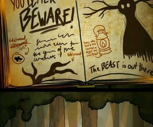 cartoon, gravity falls, and over the garden wall image