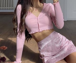 fashion, pink, and summer outfits image