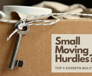 small moves, small movers, and small moving company image