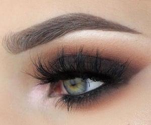 beautiful, eyelashes, and smokey image