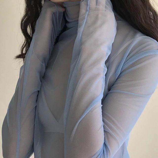 fashion, aesthetic, and blue image