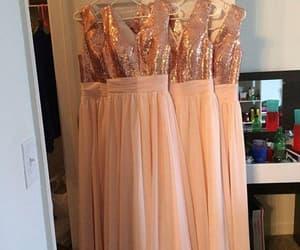pink bridesmaid dresses, wedding party dresses, and cheap bridesmaid dresses image