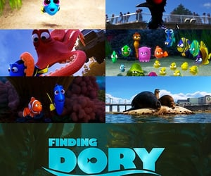 animated, film, and finding dory image