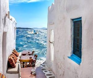 Greece, sea, and travel image