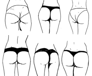 ass, butt, and drawing image