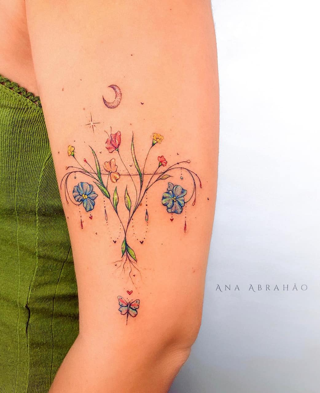 abrahaoana, ana abrahao, body art and colortattoo – image #7669156 on Favim.com