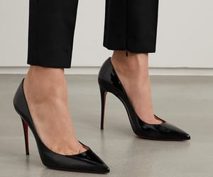 christian louboutin, fashion, and heels image
