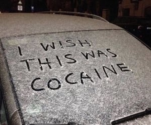 cocaine, snow, and car image