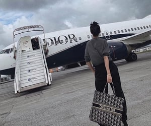 luxury, airport, and Christian Dior image