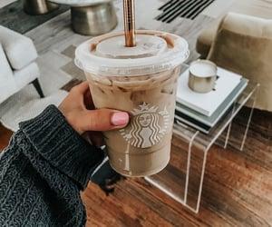 coffee, starbucks coffee, and iced coffee image