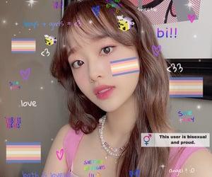 kpop, cyber edit, and chuu image