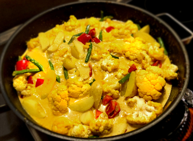 article, cauliflower, and food image