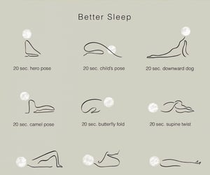 yoga and better sleep image