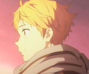 gif, anime, and kyoukai no kanata image