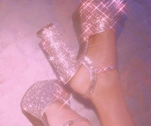 aesthetic, girly, and glitter image