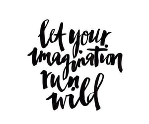 black, imagination, and quote image