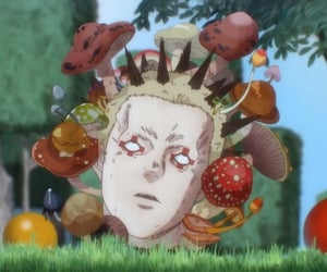 anime, manga, and mushrooms image