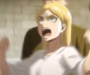 meme, reaction pic, and attack on titan image