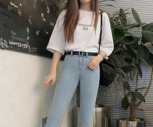 casual, clothes, and light image