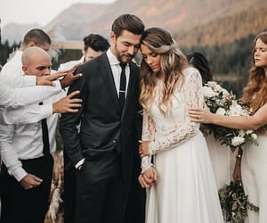 couple, goals, and wedding image