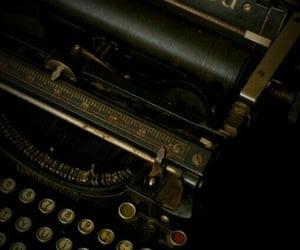 aesthetic, typewriter, and vintage image