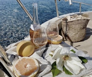 food, luxury, and wine image