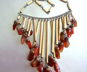 ethnic, dangle necklace, and etsy image