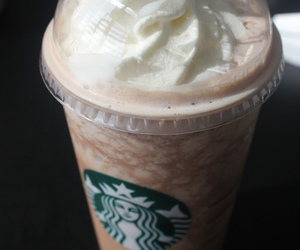 drink, frappe, and frappuccino image